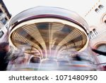 merry go round carousel in...   Shutterstock . vector #1071480950