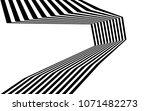 black and white stripe line...   Shutterstock .eps vector #1071482273