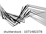 black and white stripe line... | Shutterstock .eps vector #1071482378