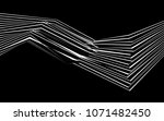 black and white stripe line... | Shutterstock .eps vector #1071482450