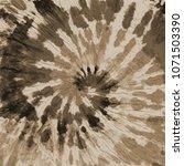 tie dye pattern. spiral hand... | Shutterstock . vector #1071503390