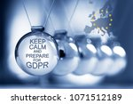 general data protection... | Shutterstock . vector #1071512189
