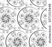 seamless pattern of geometric...