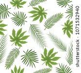 seamless floral pattern... | Shutterstock .eps vector #1071532940