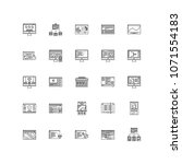 interface outline icons 25
