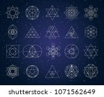 sacred geometry outline shapes...