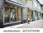 chicago  usa   june 26  2013 ... | Shutterstock . vector #1071572930
