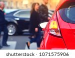 traffic laws for a safety of... | Shutterstock . vector #1071575906