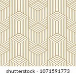 Pattern With Bold Lines And...
