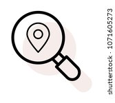location magnifier pin