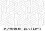 abstract geometric pattern with ... | Shutterstock .eps vector #1071613946