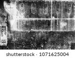 abstract grunge futuristic... | Shutterstock . vector #1071625004