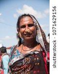 bhuj  gujarat  india 23 october ... | Shutterstock . vector #1071629156
