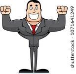 a cartoon businessperson... | Shutterstock .eps vector #1071641249