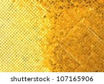 Background Tiles With Gold...