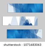 abstract cover template with... | Shutterstock .eps vector #1071683063