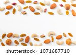 dried fruits and various of... | Shutterstock . vector #1071687710