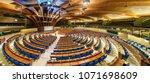 strasbourg  france   april 13 ... | Shutterstock . vector #1071698609
