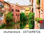canals in the old city of... | Shutterstock . vector #1071698726
