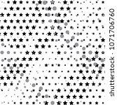radial dot pattern or halftone... | Shutterstock . vector #1071706760