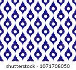 seamless thai pattern  abstract ... | Shutterstock .eps vector #1071708050