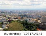 aerial urban view   city of ... | Shutterstock . vector #1071714143