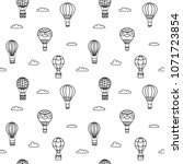 seamless pattern of vector... | Shutterstock .eps vector #1071723854