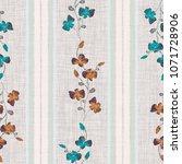 Seamless Pattern Small Wild...