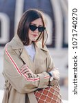 fashion details. fashion... | Shutterstock . vector #1071740270