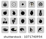 set of fruits and vegetables....   Shutterstock .eps vector #1071740954