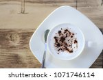 soft focus on a cup of... | Shutterstock . vector #1071746114