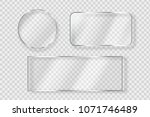 vector set of isolated... | Shutterstock .eps vector #1071746489