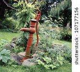 A Pump In A Garden  Skane ...