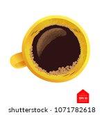 top view vector illustration of ... | Shutterstock .eps vector #1071782618