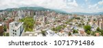 panoramic city of bucaramanga... | Shutterstock . vector #1071791486