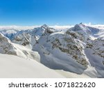 a wintertime view from mt.... | Shutterstock . vector #1071822620