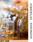 whiskey or whisky tasting ... | Shutterstock . vector #1071826814