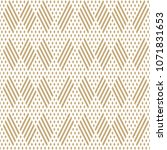 golden vector geometric... | Shutterstock .eps vector #1071831653