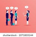 vector flat business... | Shutterstock .eps vector #1071833144