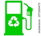 bio fuel pump icon   a vector...   Shutterstock .eps vector #1071834473