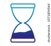 degraded line sand hourglass... | Shutterstock .eps vector #1071854564