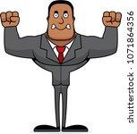 a cartoon businessperson... | Shutterstock .eps vector #1071864356