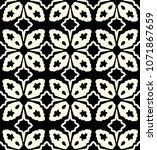 decorative hand drawn seamless...   Shutterstock .eps vector #1071867659