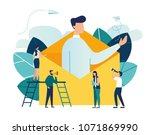 vector illustration  concept of ... | Shutterstock .eps vector #1071869990