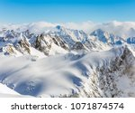 a wintertime view from mt.... | Shutterstock . vector #1071874574