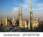 italy  lombardy region  city of ... | Shutterstock . vector #1071874730