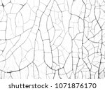 the wall with cracks  white... | Shutterstock . vector #1071876170