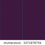 isometric grid. vector seamless ... | Shutterstock .eps vector #1071878756