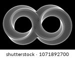 mobius strip ring infinity... | Shutterstock .eps vector #1071892700