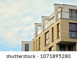 modern and new apartment... | Shutterstock . vector #1071895280